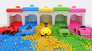Colors for Children to Learn with Cars Toys - Colors Collection for Children