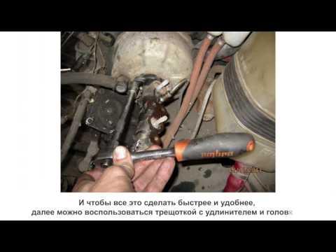 Замена главного тормозного цилиндра на ВАЗ 2106-2107 скачать