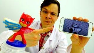 ГЕРОИ В МАСКАХ: Алет сломала крыло! Видео для детей #КЕТБОЙ и #ДокторОЙ Мультики про игрушки