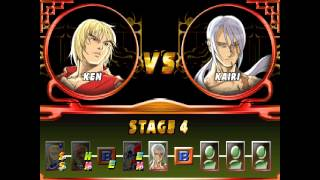 Street Fighter EX2 Plus - Ken Playthrough