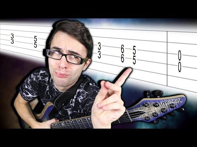 Top 10 Easiest Guitar Riffs!