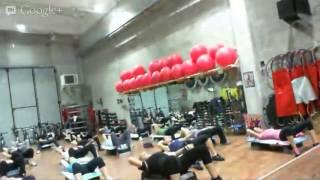 Monya fitness lezione di tono generale con particolare attenzione  all