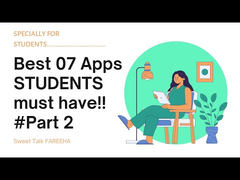 Top 07 Must Have Mobile Apps For Students || BEST Apps For Students.