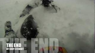 Snowmobiling Deep Powder in Utah Backcountry HD Thumbnail