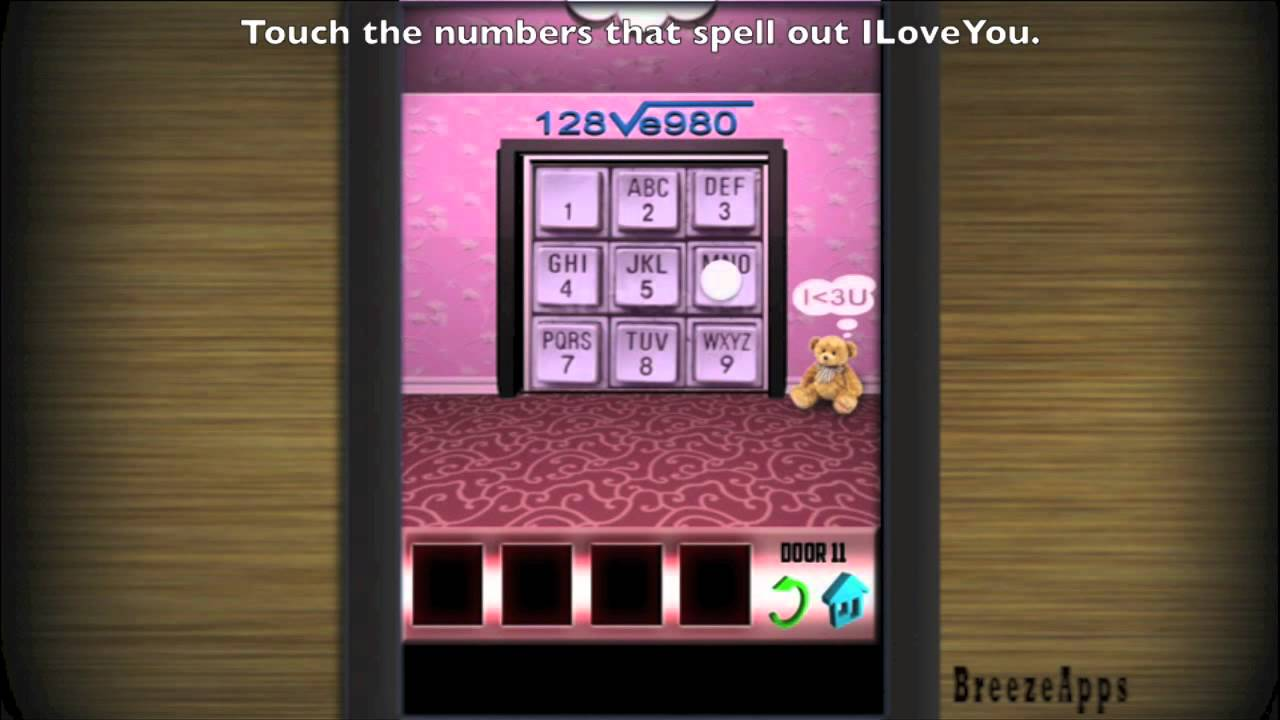& 100 Doors x Level 11 walkthrough (iPhone Ipod touch) - YouTube