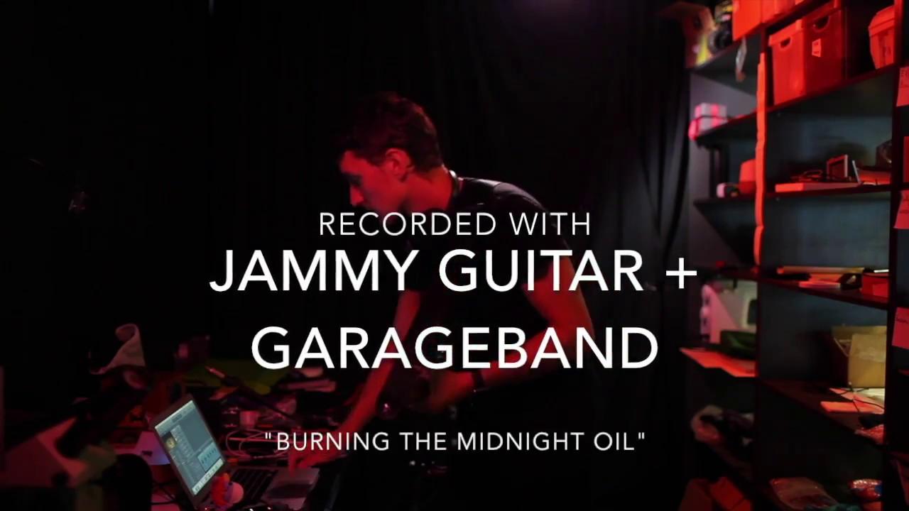Burning the Midnight Oil: Jammy Guitar Multitrack Recording