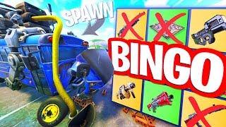 SPANNENDE BINGO OP SPAWN ISLAND!! Fortnite Playground Minigames