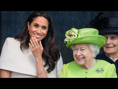 Meghan Markle and Queen Elizabeth Are Royal Besties During Day Out