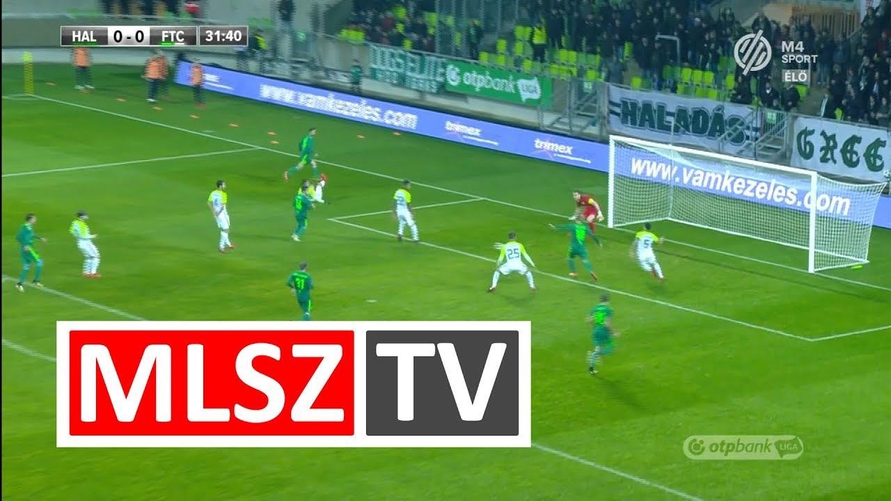 Mészáros Karol gólja a Swietelsky Haladás - Ferencvárosi TC mérkőzésen