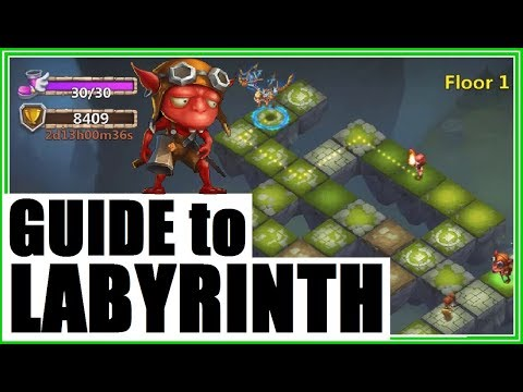 GUIDE To LABYRINTH: Strategy Tips Hints Castle Clash