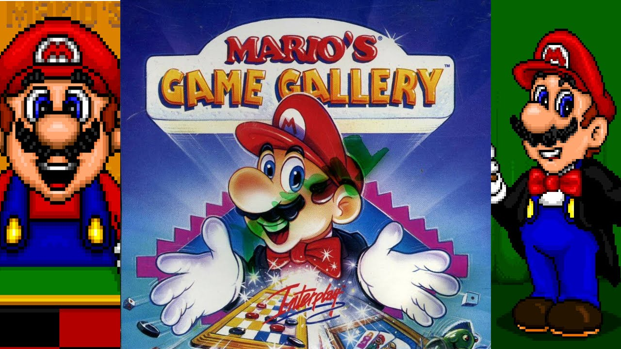 mario s game gallery pc gameplay full hd presage software 1995