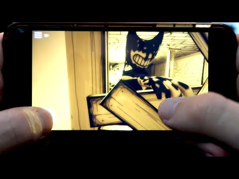 HOW TO PLAY BENDY AND INK MACHINE ON YOUR PHONE!!