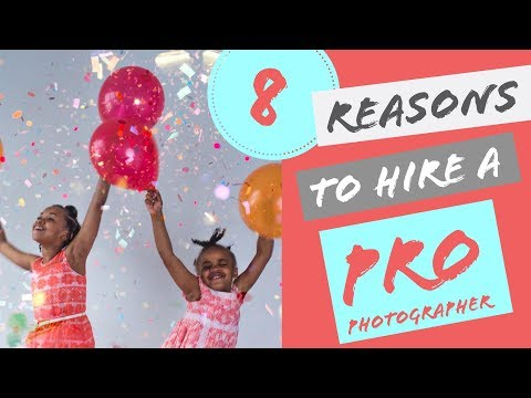 8 reasons to hire a pro photographer