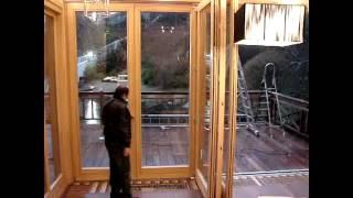 Двери Гармошка OKNA VERANDA(, 2012-07-26T11:46:56.000Z)
