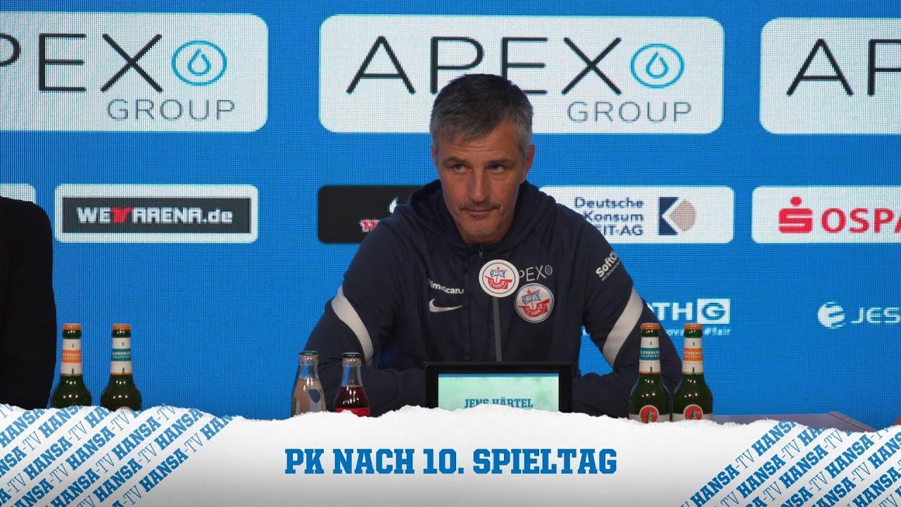 Download 💬 PK nach dem Spiel: Hansa Rostock vs. SV Sandhausen   2. Bundesliga⚽