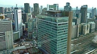 Yahoo! JAPAN 大阪グランフロントオフィス受付から見た、大阪都心の風景!♪