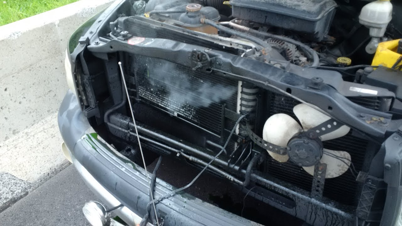 hight resolution of 2003 dodge ram radiator replace