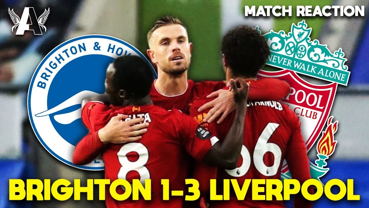 SALAH FOR THE GOLDEN BOOT AGAIN?   Brighton 1-3 Liverpool Match Reaction
