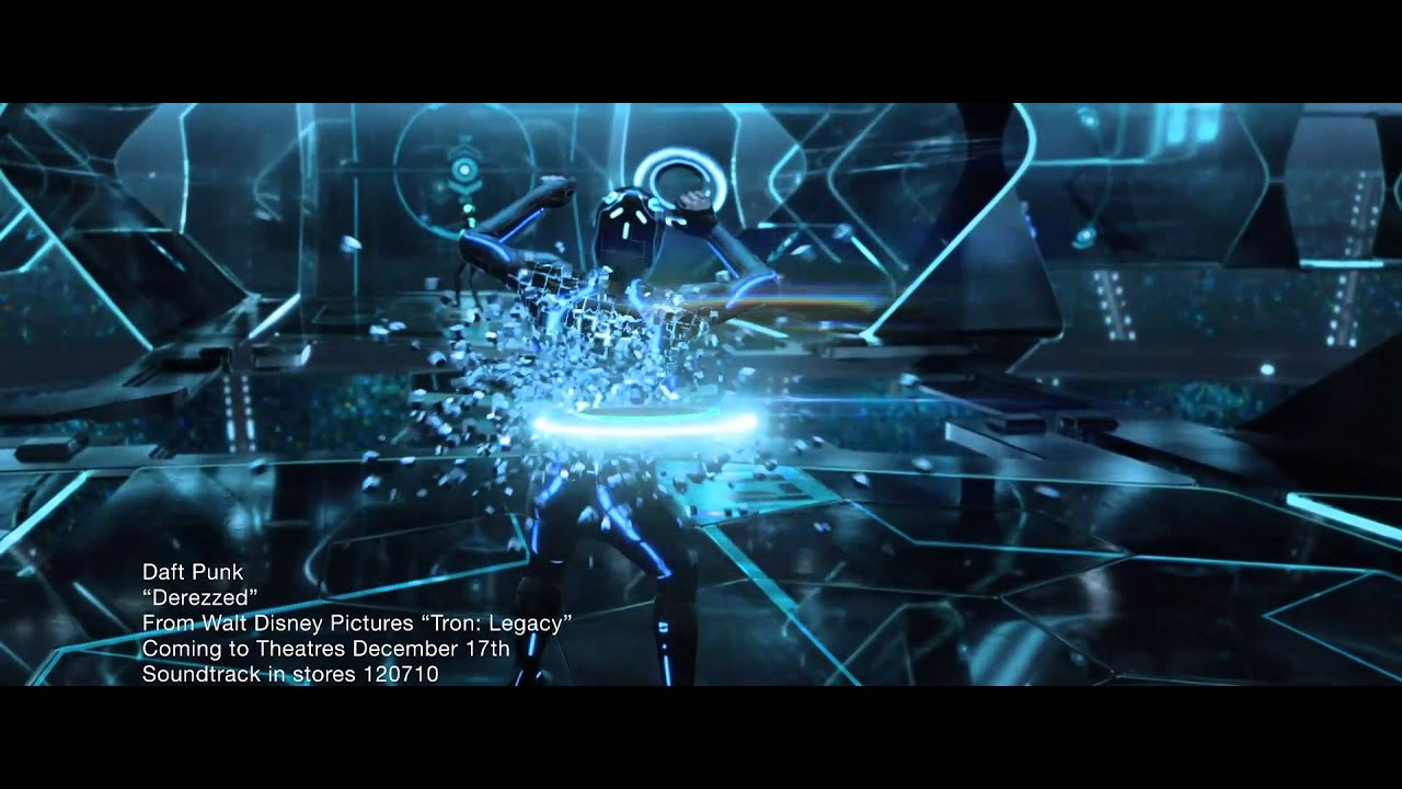 Daft Punk   Derezzed HD 1080p High Definition (Official Music Video From  TRON Legacy)
