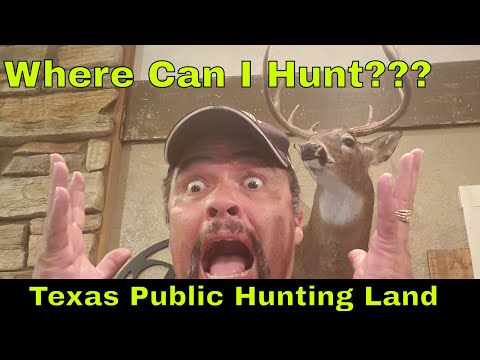 Texas Public Land Hunting: Places You Can Hunt