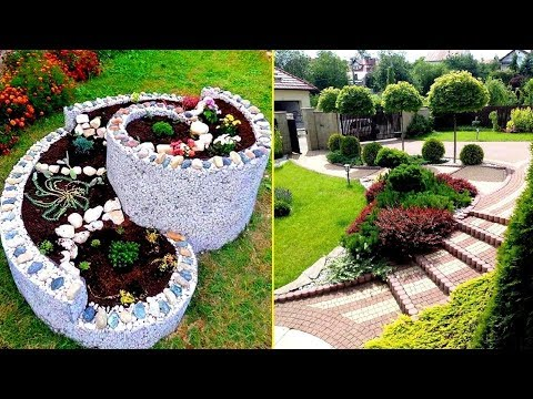 Ландшафтный дизайн 65 Прекрасных идей для дачи и сада / Landscape Design Ideas / A - Video
