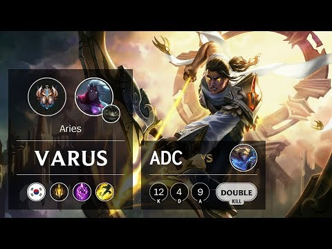 Varus ADC vs Ezreal - KR Challenger Patch 9.16