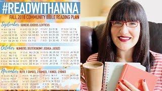 Baixar Fall 2018 Bible Reading Plan | #READWITHANNA