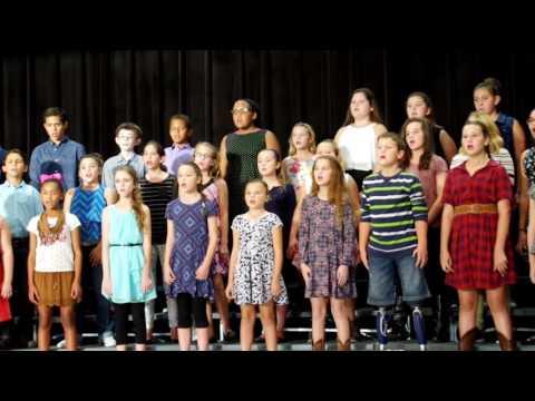 Northpointe Intermediate School 2016 Fall Choir Show Part 3