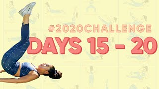 Day 15 - 20 | Blogilates 2020 Challenge