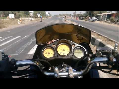 Karizma R at top speed