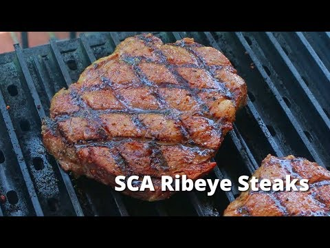 Malcom Reed from How to BBQ Right shows us the secret to an award winning Ribeye