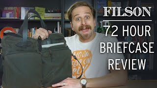 Filson 72 Hour Tin Briefcase Review
