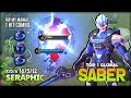 7040 Match of Saber  Perfect Enemy Lock by s                   Top 1 Global Saber   Mobile Legends