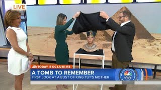 Queen Nefertiti Recreated as A Tan White Woman On Today Show, Black Twitter Goes Off