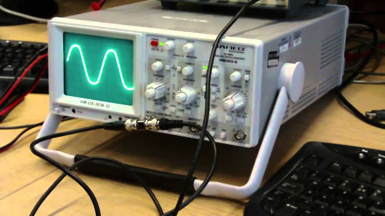 Oscilloscope Tutorial - Calculating the time and frequency