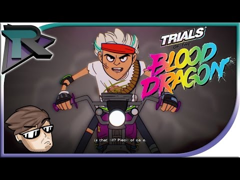 80's Trials- Trials Of The Blood Dragon