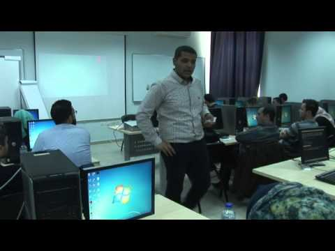 Palestine workshop 2015 - Augmented Reality & Videomapping