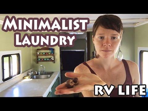 How I Do My Laundry || Minimalist, RV Life