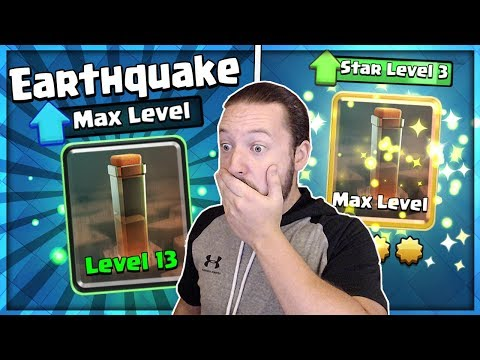 FULLY MAXED EARTHQUAKE GAMEPLAY!! THIS IS INSANE!!
