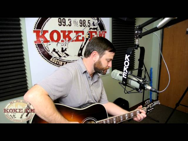 Adam Hood performs Payphones and Postcards on KOKEFM