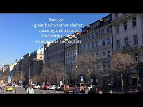 Prague passages around Wenceslas Square