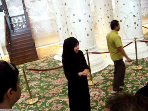 Sheikh Zayed Mosque tour