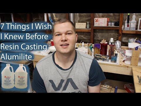 7 Things I Wish I Knew Before Resin Casting Alumilite