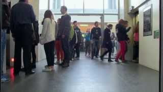 Repeat youtube video Paternoster Lift at the Arts Tower - One Show