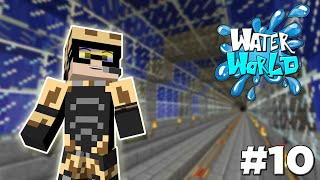 Caminhos Submarinos! - Minecraft Survival 1.8 - Water World #10