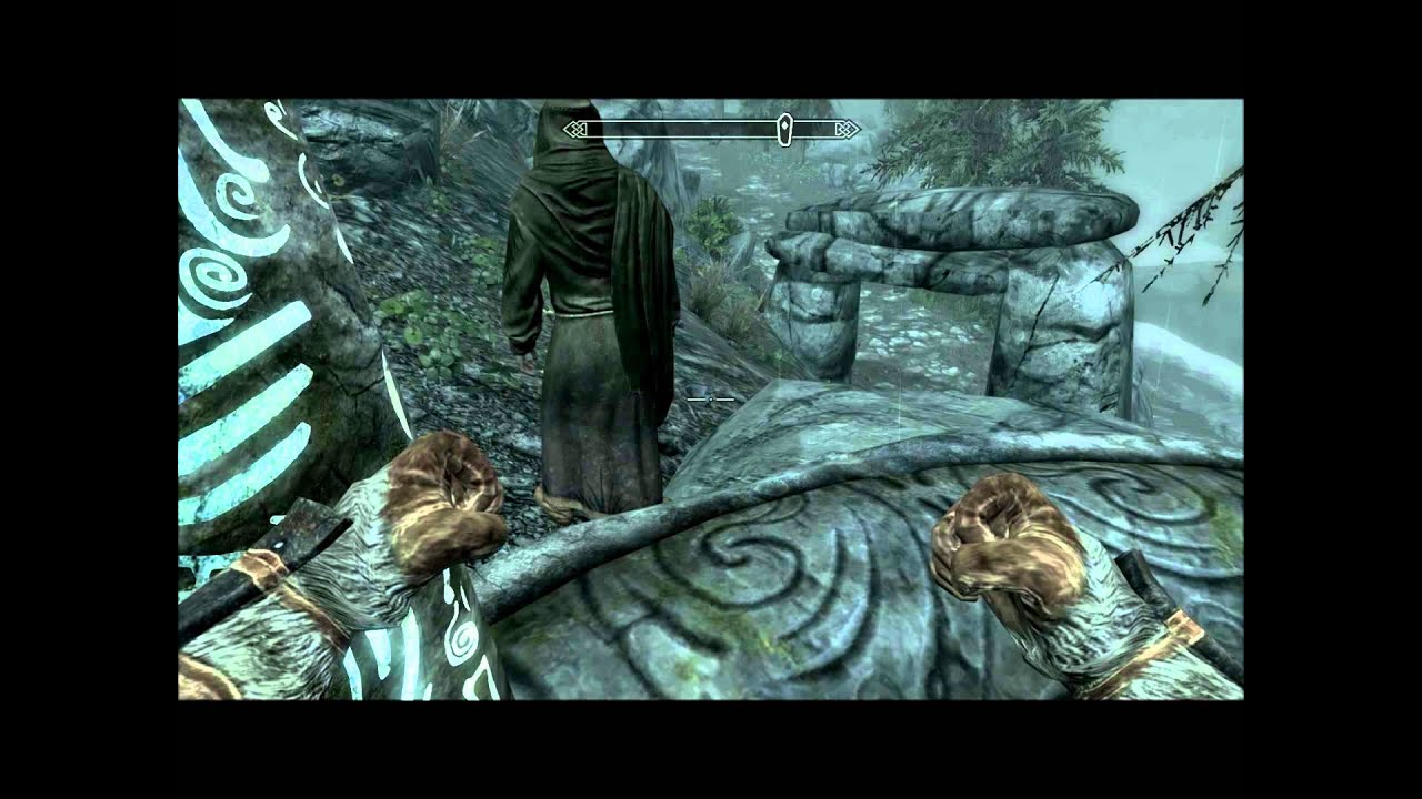 Please update to the latest version of skyrim