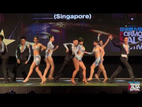 2017 Formosa Salsa Festival feat. Mosaic Dance Co. Pro. Team (Singapore)