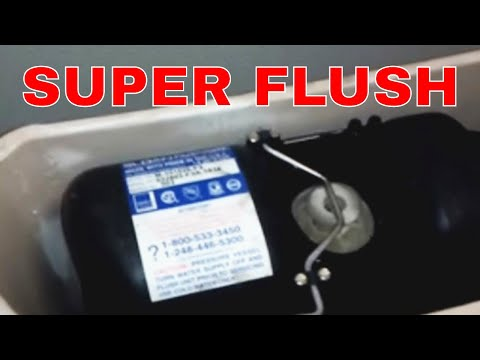 Sloan Pressure Assist Toilet Repair