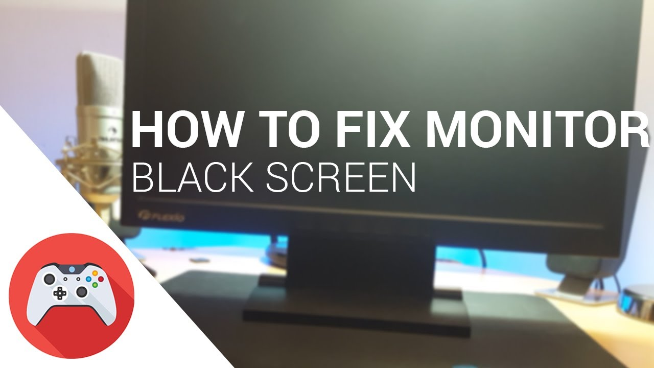How To Fix Monitor (Black Or Flickering Screen)
