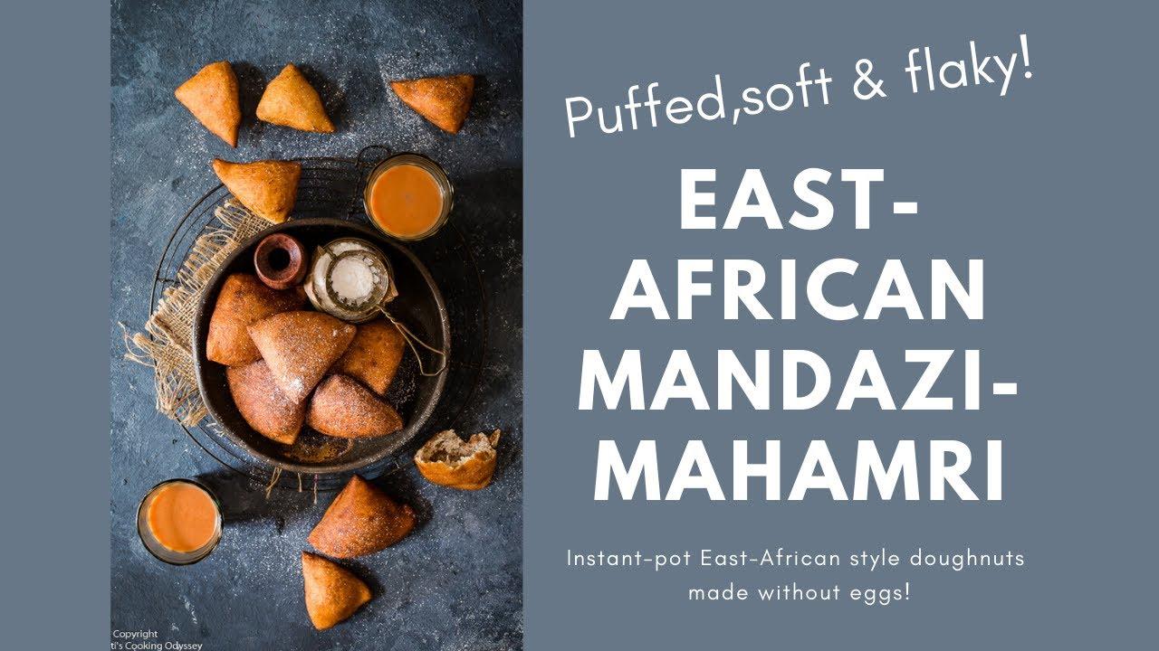 Instant Pot Eggless Mandazi Mahamri How To Make Vegan Mandazi Jagruti S Cooking Odyssey